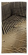 Fence Line Beach Towel