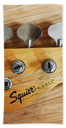 Fender Squier Bass Beach Towel