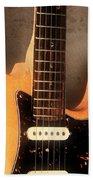 Fender Stratocaster Electric Guitar Beach Towel