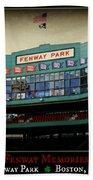 Fenway Memories - Poster 2 Beach Towel