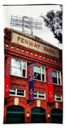 Fenway Park In October 2013 Beach Towel