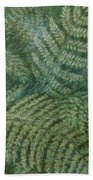 Fern Frenzy Beach Towel by Joann Renner