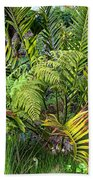 Ferns II Beach Towel