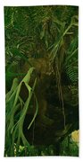 Ferns In The Jungle Room Beach Towel
