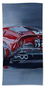 Ferrari 250gto Beach Towel