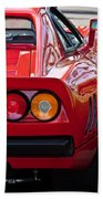 Ferrari Gto 288 Taillight -0631c Beach Towel