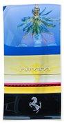 Ferrari Rear Emblem -0062c Beach Towel