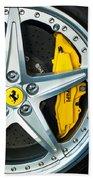 Ferrari Wheel 3 Beach Towel