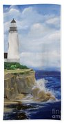 Ferrels Lighthouse Beach Towel