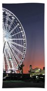 Ferris Wheel 16 Beach Towel