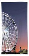 Ferris Wheel 21 Beach Towel