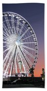 Ferris Wheel 23 Beach Towel