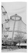 Ferris Wheel And R F P Pavilion - Spokane Washington Beach Towel