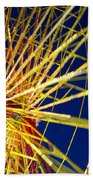 Ferris Wheel Beach Towel