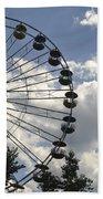 Ferris Wheel In The Sky Beach Towel