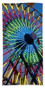 Ferris Wheel, Kentucky State Fair Beach Towel