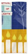 Festival Of Lights Beach Towel