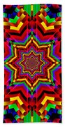 Festive Colors Beach Towel