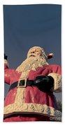 Fiberglass Santa Claus Beach Towel