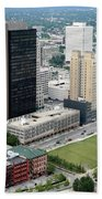 Fiberglass Tower Toledo Ohio Beach Towel