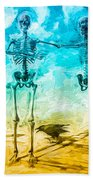 Fickle Finger Of Fate Beach Towel