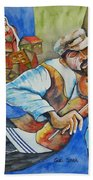 Fiddler On The Roofs Beach Towel