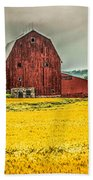 Field And Barn Beach Towel