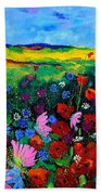 Field Flowers Beach Towel
