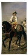 Field Marshal Baron Ernst Von Laudon 1717-90, General In The Seven Years War And War Of Bavarian Beach Towel