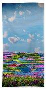 Field Of Flowers... Beach Towel