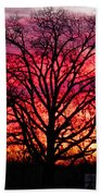 Fiery Oak Beach Towel