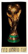 Fifa World Cup Trophy Beach Towel