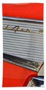 Fifty Seven Chevy Bel Air Beach Towel