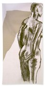 Figure Collage Beach Towel