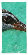 Fijinan Bird 2 Beach Towel