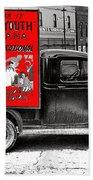 Film Homage Assassin Of Youth 1937 John Vachon Omaha Nebraska 1937-2010  Beach Towel