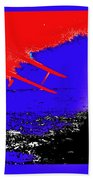 Film Homage Cary Grant Biplane Collage Publicity Photo North By Northwest 1959-2012 Beach Towel