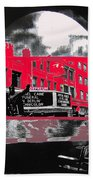 Film Homage Funeral In Berlin 1966 Orpheum Winter Carnival Parade Collage St. Paul Mn 1967-2008  Beach Towel