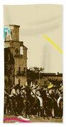 Film Homage Rouben Mamoulian  Ida Lupino  The Gay Desperado 1 1936 San Xavier Tucson Beach Towel