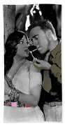 Film Homage Sadie Thompson 1 Gloria Swanson And Raoul Walsh 1927-2014 Beach Towel