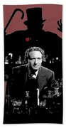 Film Homage Spencer Tracy Dr. Jekyll And Mr. Hyde 1941-2014 Beach Towel