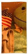 Film Homage The Muppet Movie 1979  Number 2 Froggie Smudge Stick Casa Grande Az 2004-2009 Beach Towel