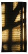 Film Noir Dick Powell Edward Dmytryk Cornered 1945 Building Interior Shadows Coolidge Arizona  2004 Beach Towel