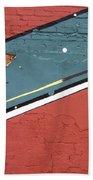 Film Noir Phil Carlson The Phenix City Story 1955 Wall Diamond Lills Bar Eloy Arizona 2005 Beach Towel