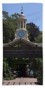 Filoli Clock Tower Garden Shop Beach Towel