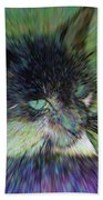 Filtered Cat Beach Towel
