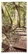 Filtered Forest Beach Towel