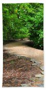Finding The Way - Yates Mill Beach Towel