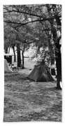 Finger Lakes Camping Beach Towel