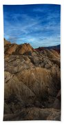Fire Canyon Twilight Beach Towel
